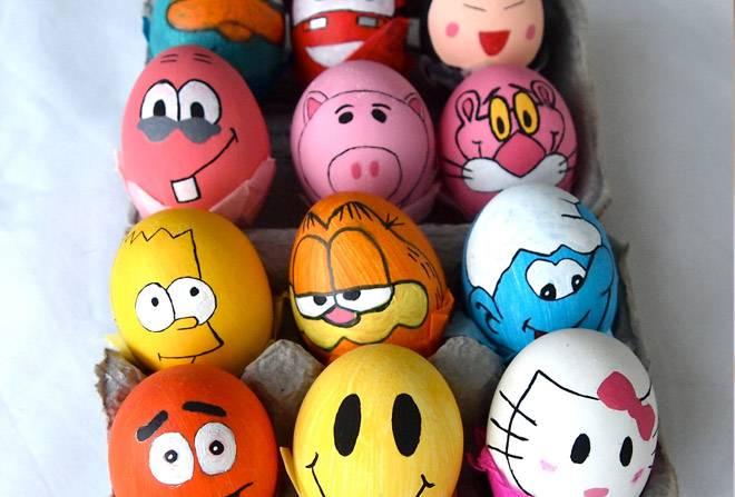Миньоны из яиц своими руками фото 559